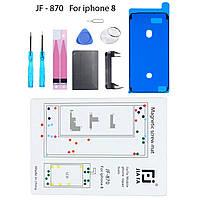Магнитный коврик инструмент для ремонта iPhone 8, замена аккумулятор, фото 1