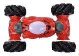 Трюковая машинка-перевёртыш на радиоуправлении Hyper Champions красная, управление с руки, фото 5