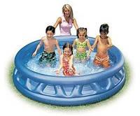 Надувной детский бассейн Intex 58431 Конус — Летающая тарелка (188х46см. )