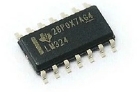 Микросхема операционный усилитель LM324 SOP-14.