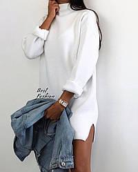 Утепленное платье-туника / арт.500