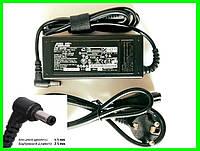 Блок Питания Зарядка для Ноутбука ASUS 3.42A(65W) с Сетевым в Кабелем, фото 1