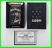Зажигалка ZIPPO Бензиновая (Jack Daniels) - 02, фото 1