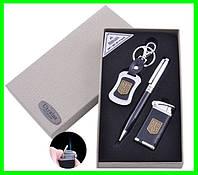 Подарочный Набор 3 в 1 UKRAINE (брелок, ручка, зажигалка), фото 1