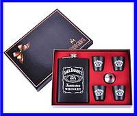 Подарочный Набор с Флягой Jack Daniel's (металл Black), фото 1