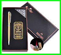 Подарочный Набор Ручка и Зажигалка Jack Daniel's, фото 1
