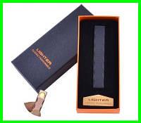 Электрическая USB Зажигалка Слайдер - Спираль в Подарочной Упаковке, фото 1