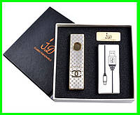 USB Зажигалка Слайдер (Louis Vuitton,Cartier,Canel...), фото 1
