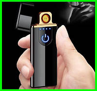 Электрическая USB Зажигалка с Сенсорным LED Дисплеем, фото 1