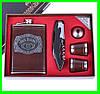Подарочный Набор 5 в 1 Jack Daniel's (универсальный нож,фляга,рюмки и лейка)