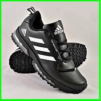 Кроссовки Adidas FastMarathon 2.0 Чёрные Мужские Адидас (размеры: 44) Видео Обзор, фото 1