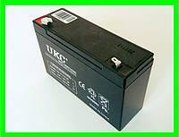 Аккумулятор Батарея 6V 10Ач для Мотоциклов Скутеров Мопедов