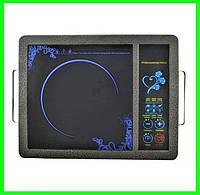 Инфракрасная электроплита 2000 Вт с таймером электрическая печь, фото 1