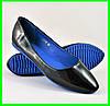 .Женские Балетки Чёрные Мокасины Туфли (размеры: 36,37,38,39)