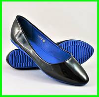 .Женские Балетки Чёрные Мокасины Туфли (размеры: 36,37,38,39), фото 1