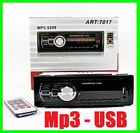 Автомагнитола Мр3 USB и MicroSD Автомобильная Магнитола Мощность 4х50Вт max, фото 1