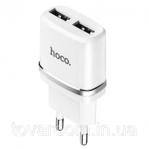 Сетевое зарядноре устройство  Hoco  для  iPhone 5/10