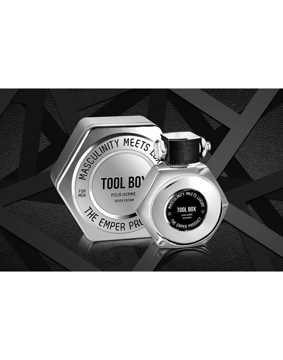 Tool Box Silver Emper Men EDT 100 ml арт.356570 TOPfor