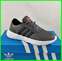 Кроссовки Adidas Мужские Серые Адидас BOOST (размеры: 41,42,43,44,45) Видео Обзор, фото 1