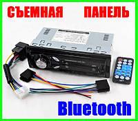 Многофункциональная Автомагнитола с Bluetooth USB/microUSB Mp3 Магнитола с Блютуз (Съёмная Панель), фото 1