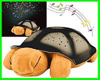 Ночник Звёздное Небо Большая Плюшевая Черепаха  Детский Ночной Проектор, фото 1