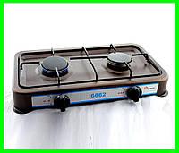 Настольная Газовая Плита на Две Конфорки Таганок, фото 1