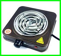 Электрическая Плита Настольная Печка Электроплитка Спираль, фото 1