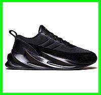 Кроссовки Adidas $harks Мужские Адидас Чёрные Акула (размеры: 41,42,44) Видео Обзор