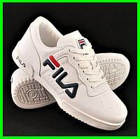 Кроссовки Fila Белые Фила (размеры: 37,38,39,40) Видео Обзор, фото 1