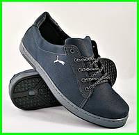 Кроссовки PUMA Мужские Синие Пума Кожаные (размеры: 40,41,42,43) Видео Обзор, фото 1