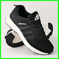Кроссовки Adidas Neo Чёрные Адидас Мужские (размеры: 40,41,42,43,44,45) Видео Обзор, фото 1
