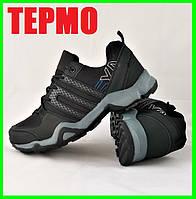 Кроссовки Мужские ТЕРМО Климапруф Черные (размеры: 41,42,43,44,46), фото 1