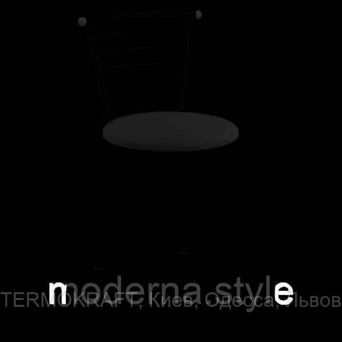 Стул кухонный Марко black кожзам черный для бара, кафе, летней площадки