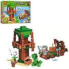 """Конструктор майнкрафт BELA Minecraft """"Путешествие к острову сокровищ на корабле"""" 161 деталь, фото 3"""
