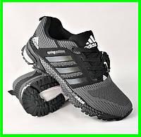 Кроссовки Adidas Spring Серые Мужские Адидас (размеры: 41,43,45,46) Видео Обзор, фото 1