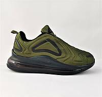 Кроссовки N!ke Air Max 720 Зелёные Хаки Мужские Найк (размеры: 41,42,43,44) Видео Обзор, фото 1