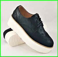 Женские Туфли Черные Кроссовки Слипоны Мокасины (размеры: 37,38,39,40,41), фото 1