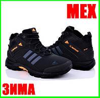Зимние Кроссовки ADIDAS Climaproof МЕХОМ Черные Мужские Ботинки Адидас (размеры: 41,42)ВидеоОбзор, фото 1