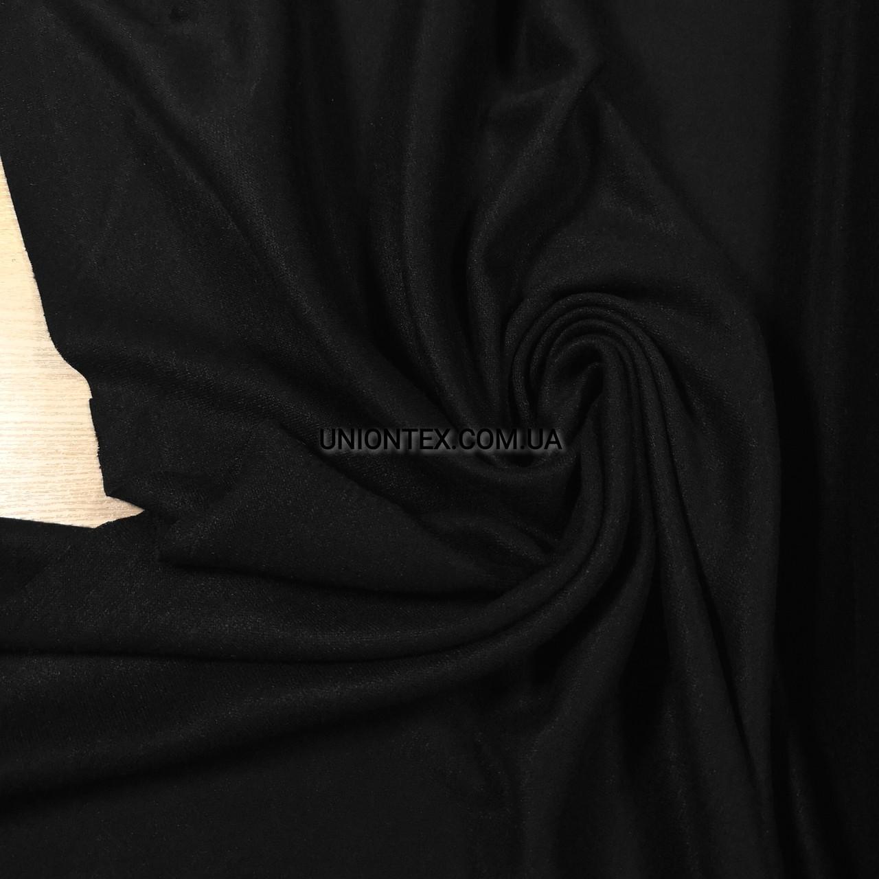 Трикотаж ангора королевская (евро) черная