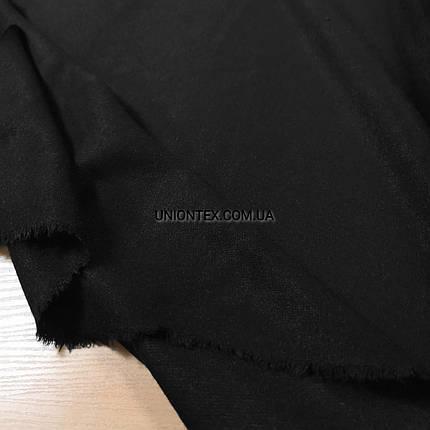 Трикотаж ангора королевская (евро) черная, фото 2