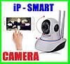 Smart Камера WiFi Camera Интернет IP Умная Поворотная (ВидеоОбзор)