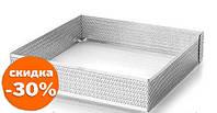Форма кондитерская Lacor квадратная перферированая 16х16 см h2 см нержавейка (68566 L)