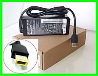 Блок Питания Зарядка для Ноутбука LENOVO 20v 4.5a 90W штекер USB PIN Square (ОРИГИНАЛ), фото 1
