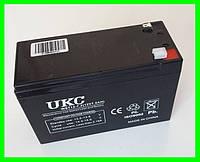 Аккумулятор Батарея 12V 7.2Ач для Мотоциклов Скутеров Мопедов