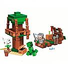 """Конструктор майнкрафт BELA Minecraft """"Путешествие к острову сокровищ на корабле"""" 161 деталь, фото 2"""
