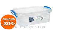 Контейнер для хранения Народний продукт 2,5л 23х17 см h9 см пластик (53 НП)