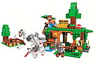 "Конструктор майнкрафт BELA Minecraft ""Битва за сокровища"" 327 деталей, фото 2"