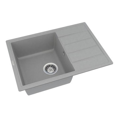 Кухонная мойка Vankor Easy EMP 02.62 Gray + сифон Vankor