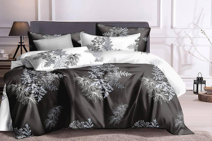 Двуспальный комплект постельного белья 180*220 сатин (16160) TM КРИСПОЛ Украина, фото 2