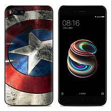 Чехол-накладка TPU Image Captain America для Xiaomi Mi 5X